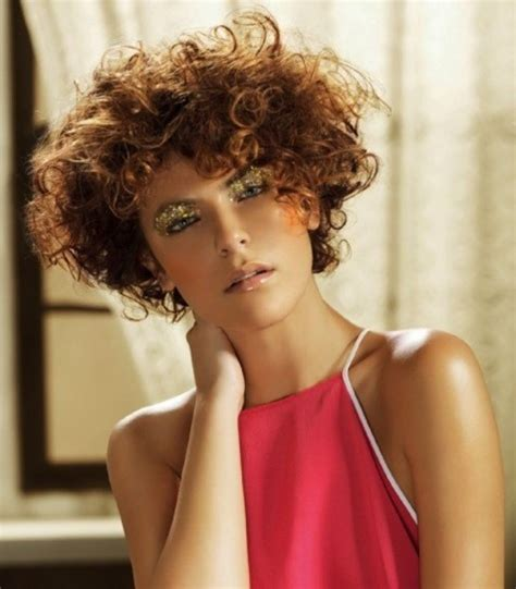 pelos rizados cortos cortes de pelo rizado corto para mujeres 2014 fotos de