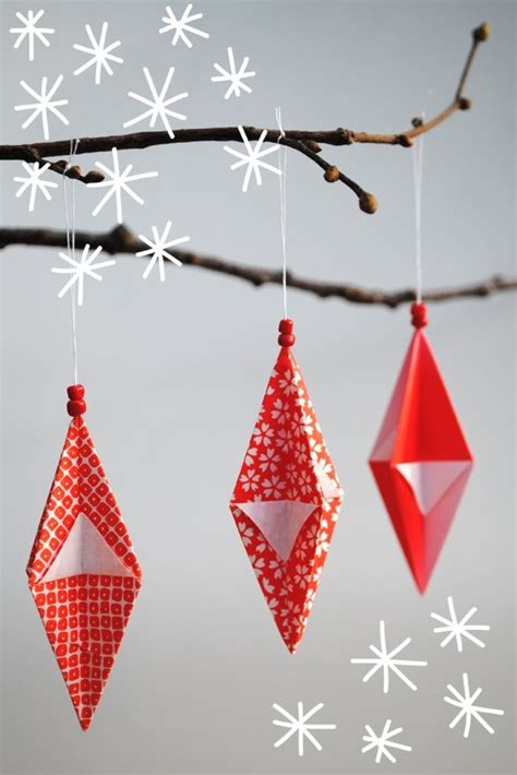 how to make origami ornaments origami ornaments