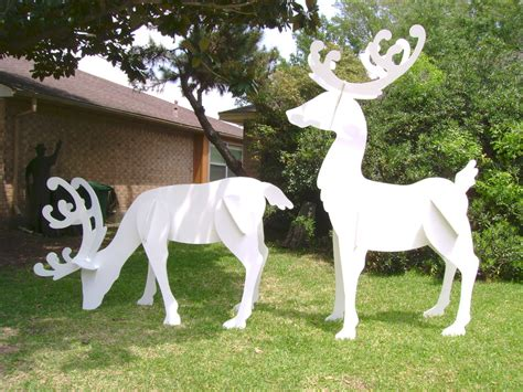 reindeer lawn ornament reindeer lawn ornaments
