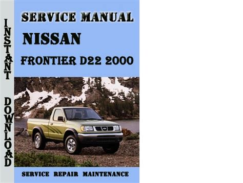 how to download repair manuals 2001 nissan frontier transmission control service manual download car manuals pdf free 2001 nissan frontier instrument cluster nissan
