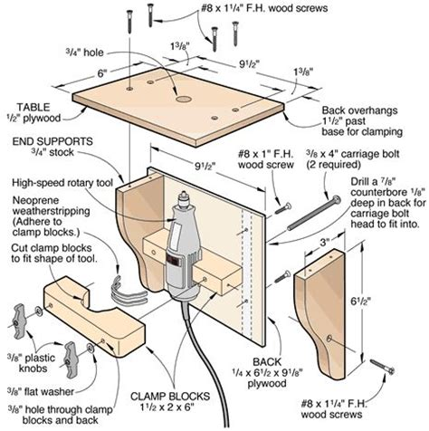 woodworking plans pdf 25 best ideas about dremel router table on