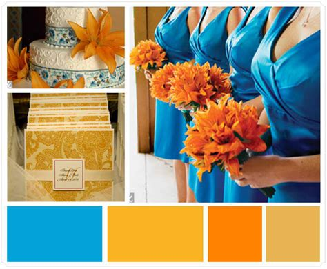 orange color theme which wedding colors should you choose for your theme