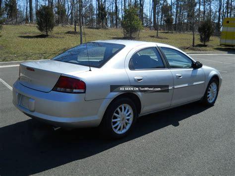 2002 Chrysler Sebring Lxi 2002 chrysler sebring lxi sedan 4 door 2 7l