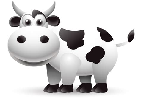 cow design different dairy cow design vector graphics 05 vector