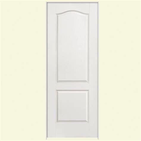 28x80 interior door masonite 28 in x 80 in textured 2 panel arch top hollow