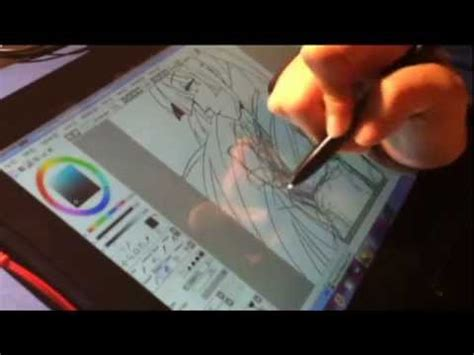 paint tool sai android speed drawing on samsung series 7 slate paint tool sai