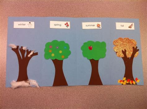 seasons crafts for four seasons craft for preschool kindergarten let s
