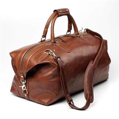 leather duffle bag mens leather duffle bags for