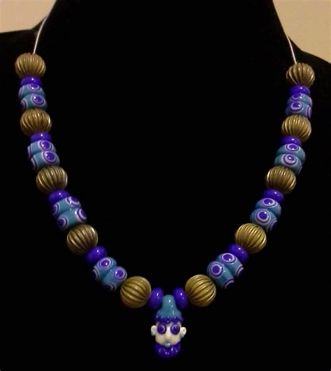 glass bead necklaces elysabeth underhill phoenician glass bead necklace