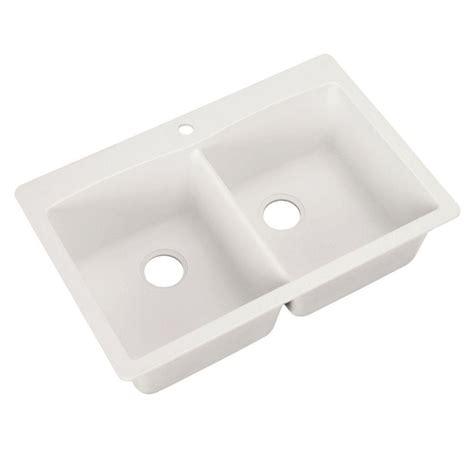 kitchen sink blanco blanco dual mount granite composite 33 in 1