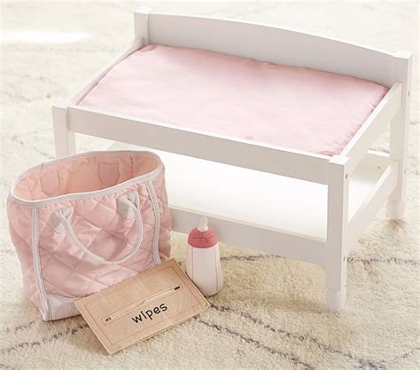 doll changing tables doll changing table pottery barn