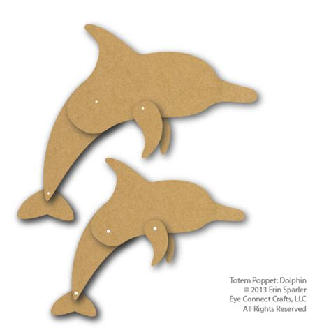 dolphin crafts for totem dolphin eyeconnect crafts