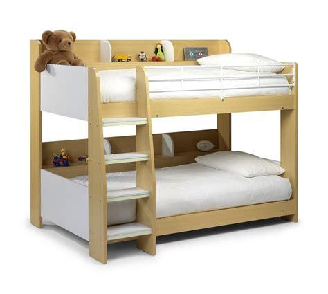 bunked bed domino bunk beds kidzdens