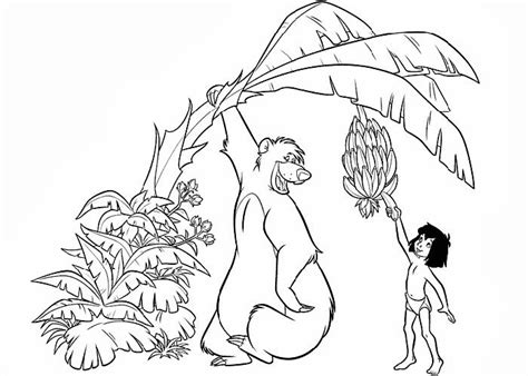 jungle book pictures to colour jungle book coloring pages best coloring pages for