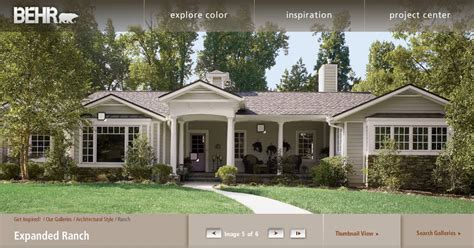 paint colors for exterior ranch style house exterior house colors for ranch style homes exterior paint