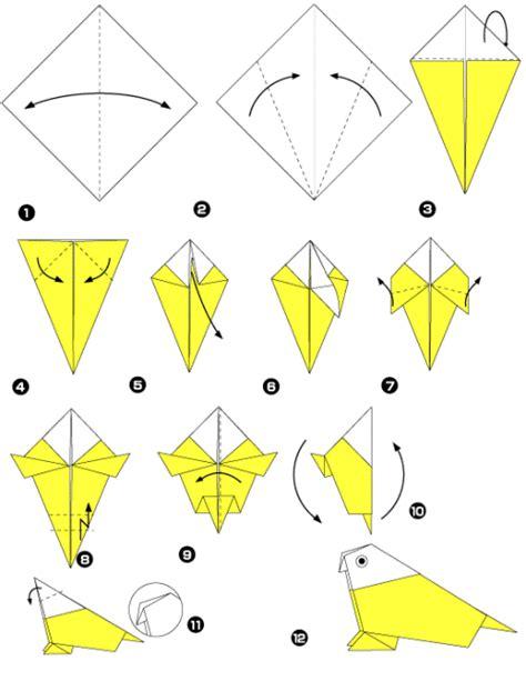 easy origami bird for origami bird make easy origami