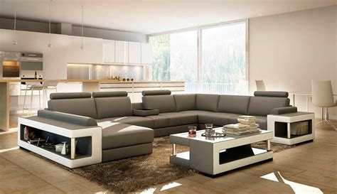 coffee tables for sectional sofas grey and white leather sectional sofa with coffee table