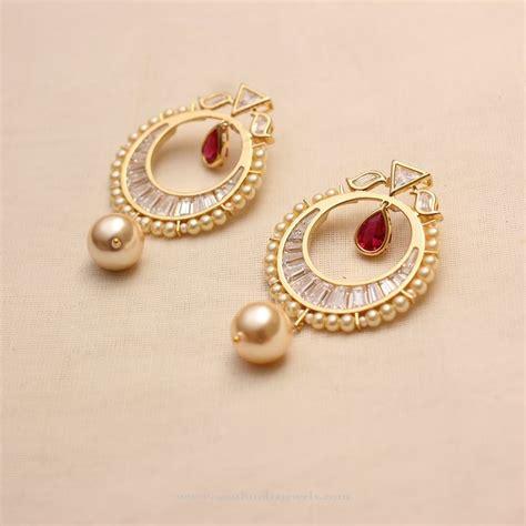 jewelry designs earrings 25 chand bali earrings gold ideas on