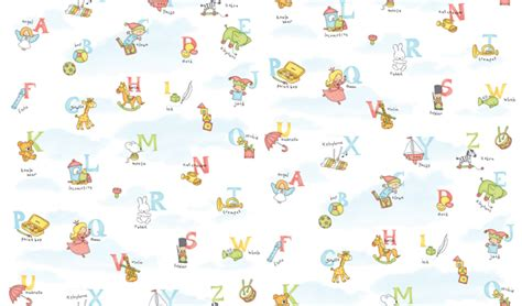 How To Apply Wall Stickers alphabet pattern self adhesive wallpapers for kids rooms