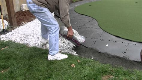 how to make a backyard putting green building a backyard putting green