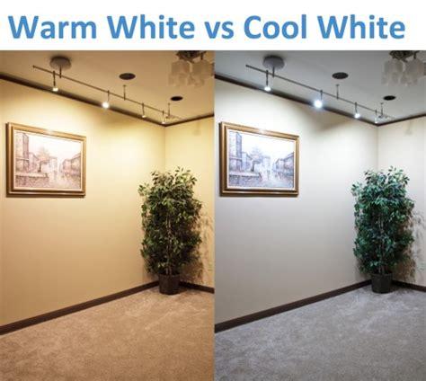 led warm white vs cool white warm white vs cool white led lighting