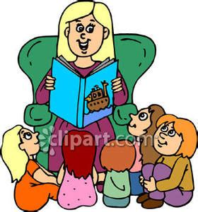 Alta Gardens Care Center by Preschool Teacher Reading To Her Student Royalty Free