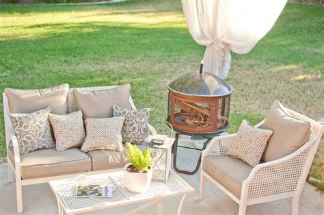 at home patio furniture home depot has some beautiful wicker furniture from the