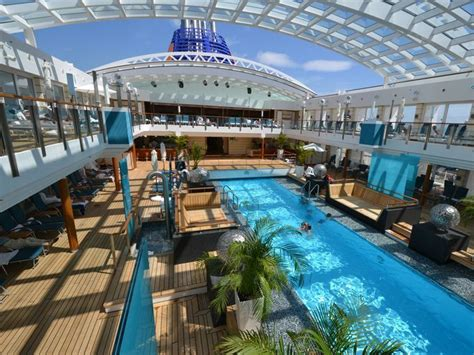 cruise ship centerpieces photo tour the luxury of the new europa 2
