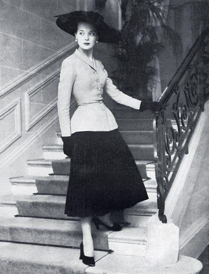history of waist work it career wardrobe history 1950s s new look