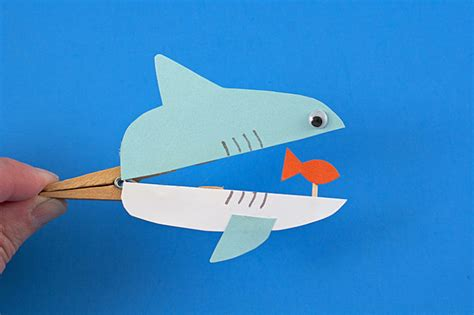 easy shark crafts for 11 easy diy clothespin crafts to excite your
