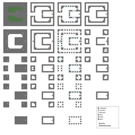 castle floor plans minecraft minecraft blueprints layer by layer minecraft castle