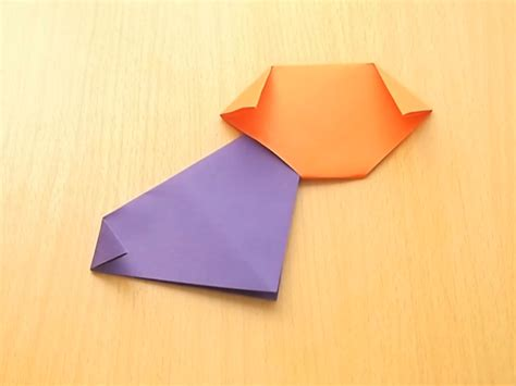 origami puppy how to make an origami 8 steps with pictures wikihow