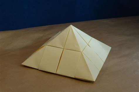 building origami modular origami architecture and landscape models folded