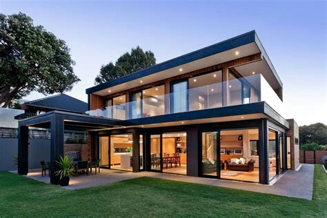 modern design house modern new zealand house by creative arch opens up to sea