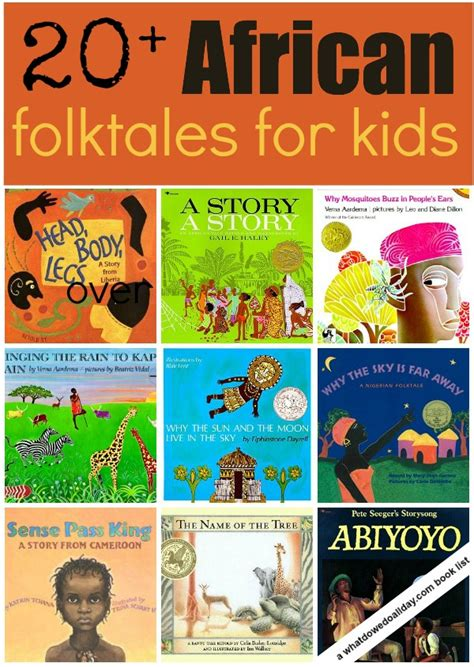 20 Folktale Picture Books For