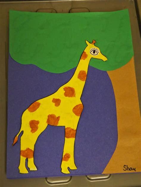 giraffe craft for the stuff we do paper giraffe craft zoo jungle and