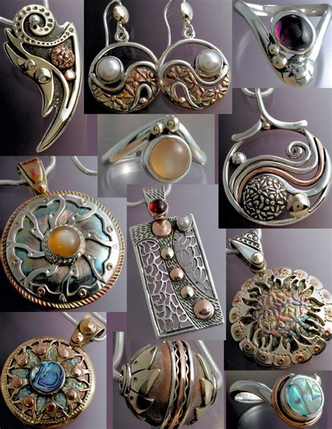 metal for jewelry mixed metal jewels mixed metal jewelry for mendocino