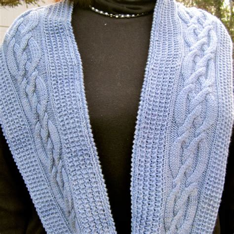 cable knit infinity scarf pattern unavailable listing on etsy