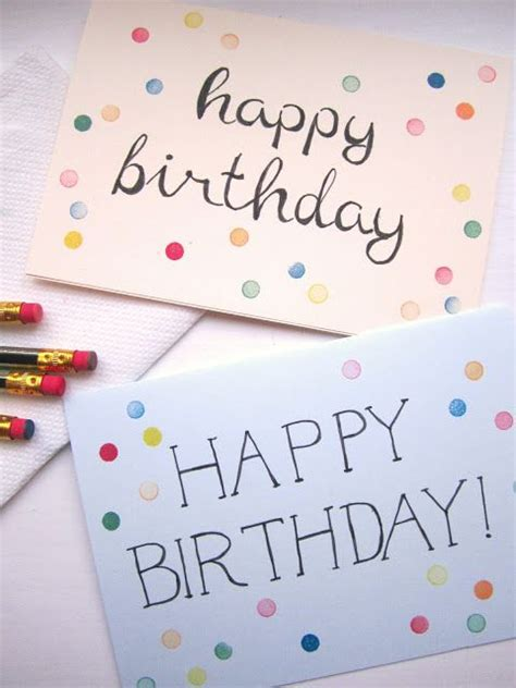 make your own happy birthday card 25 best ideas about diy birthday cards on