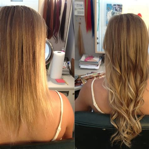micro bead extensions for thin hair 1000 ideas about micro bead hair extensions on