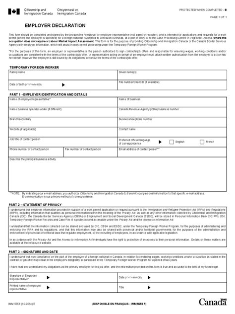as an form employee declaration form 3 free templates in pdf word
