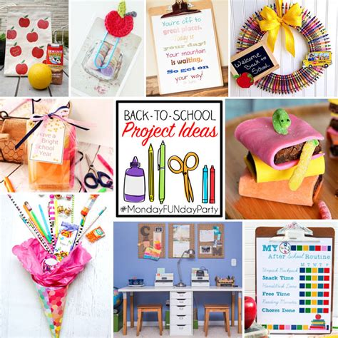 ideas for to make at school 9 back to school project ideas club chica circle where