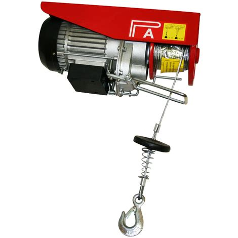 Electric Motor Lift by Electric Power Hoist Winch Lift Garage Motor Lift Cable