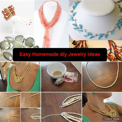 easy jewelry ideas 20 amazing creative easy diy jewelry ideas