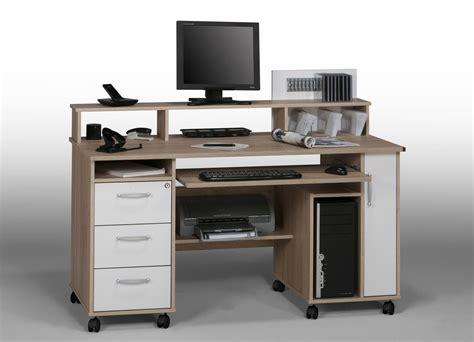 bureau meuble informatique but table de lit