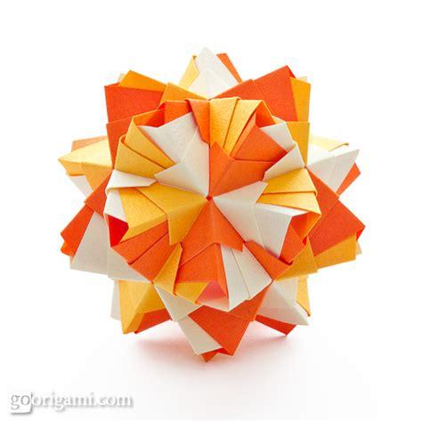 origami kusadama roses kusudama diagram