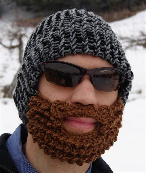 knitted beard hats kitchen and craft adventures needle craft envy