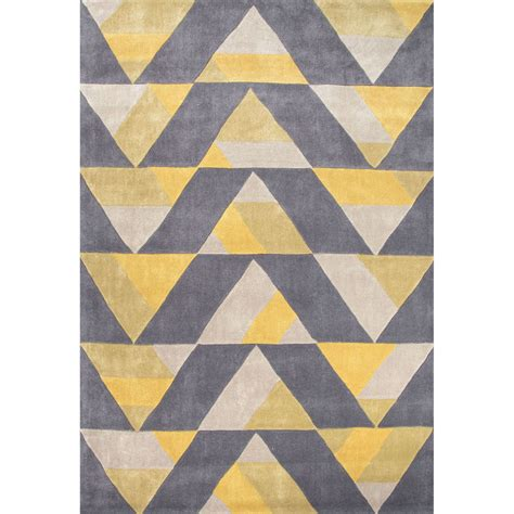 area rug patterns a dynamic geometric design of repeating triangles gives