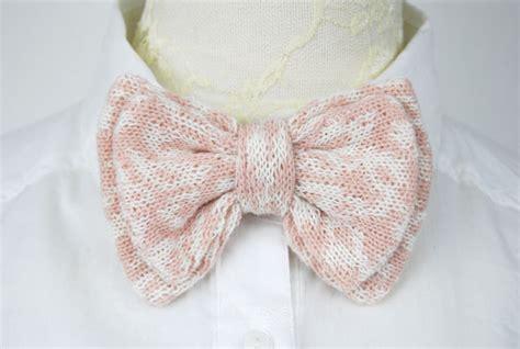 knit bow tie pattern layer knitted bow tie in leopard pattern on luulla