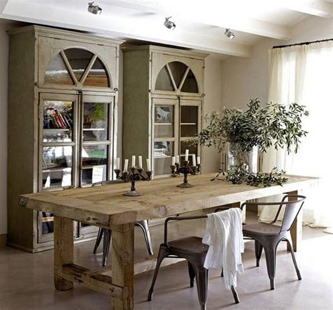going rustic with farmhouse dining table how to make it